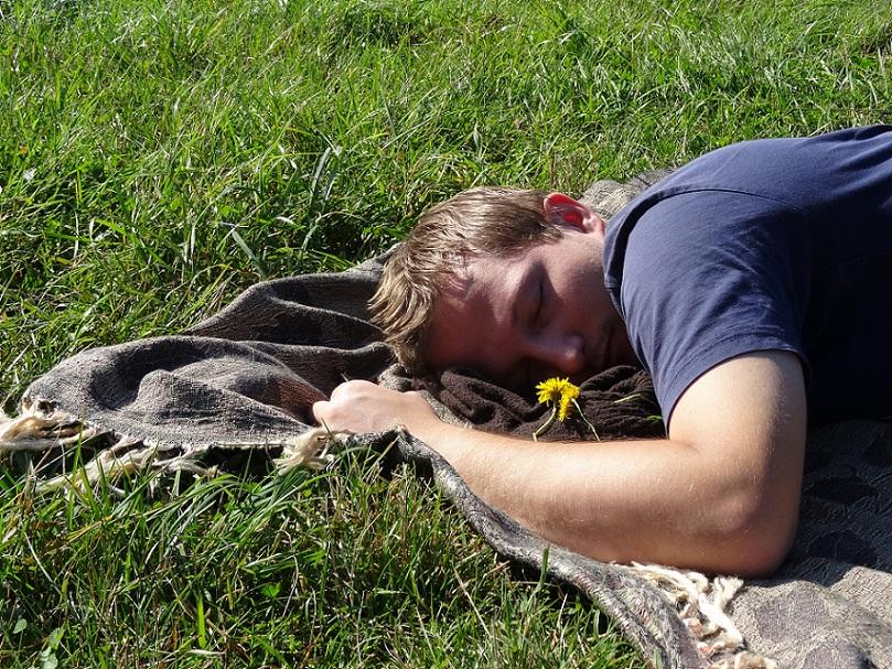 odpoczynek na polanie