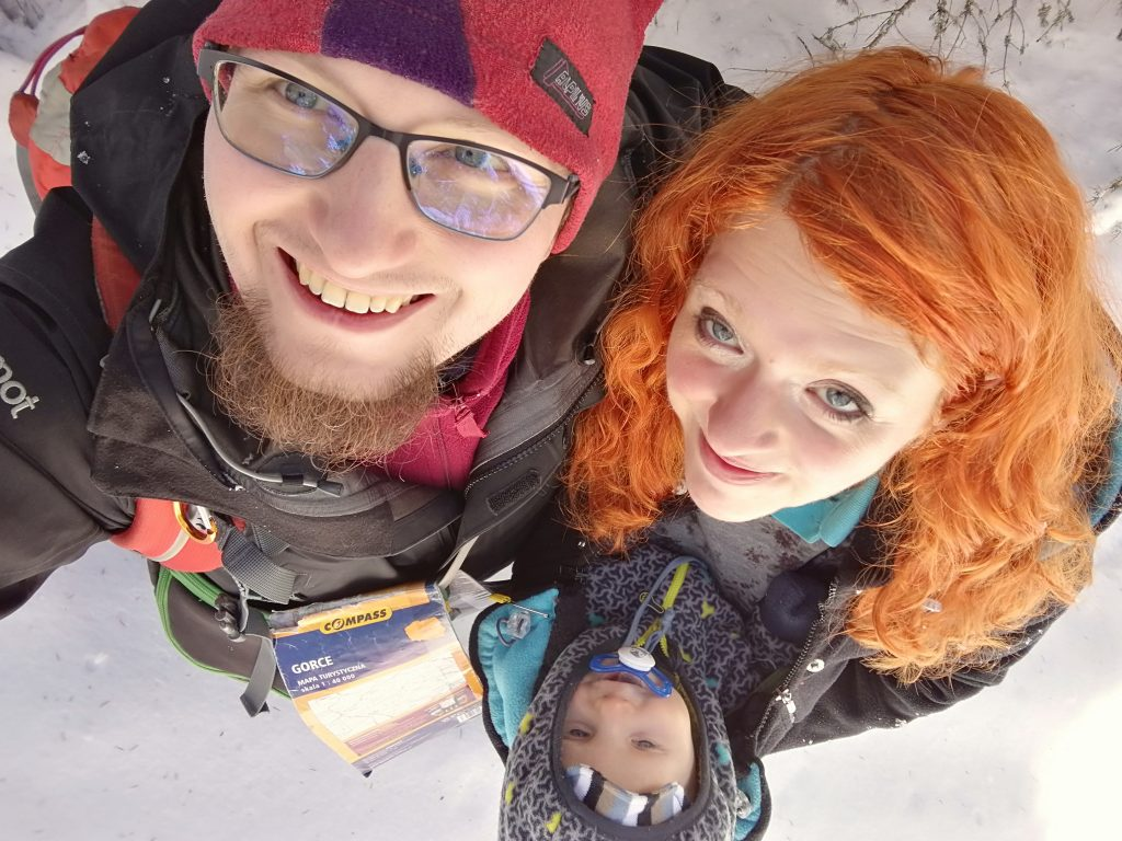 zimowe wyjścia w góry - rodzina